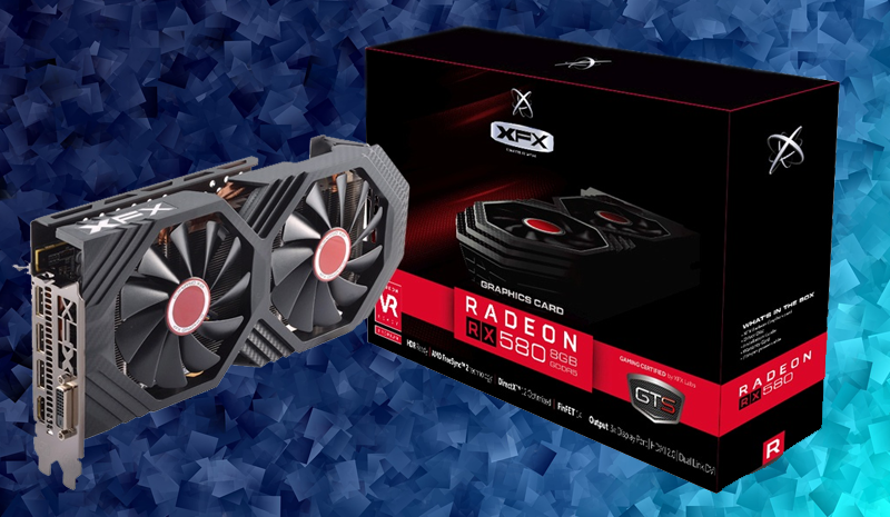 8GB Radeon 580 Graphics Card